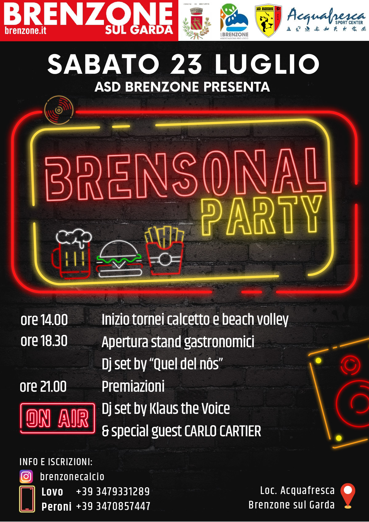 Brensonal Beach Party